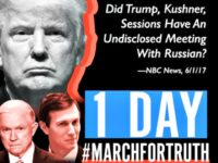 @MarchForTruth poster