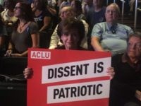 ACLU Dissent is Patriotic Resistance training (Leila Macor / AFP / Getty)