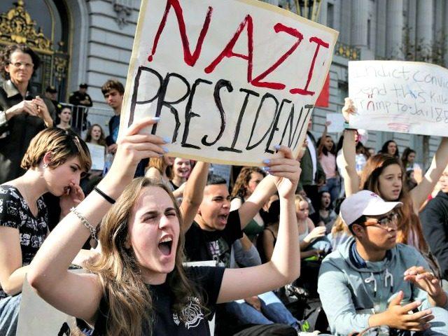 Anti-Trump Protest Elijah NouvelageReuters
