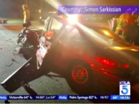 Baby Dies DUI Crash KTLA