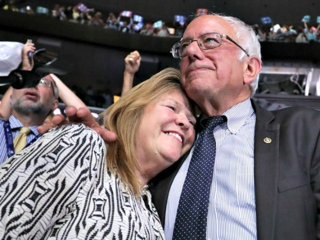 Bernie, jane Sanders Chip SomodevillaGetty Images