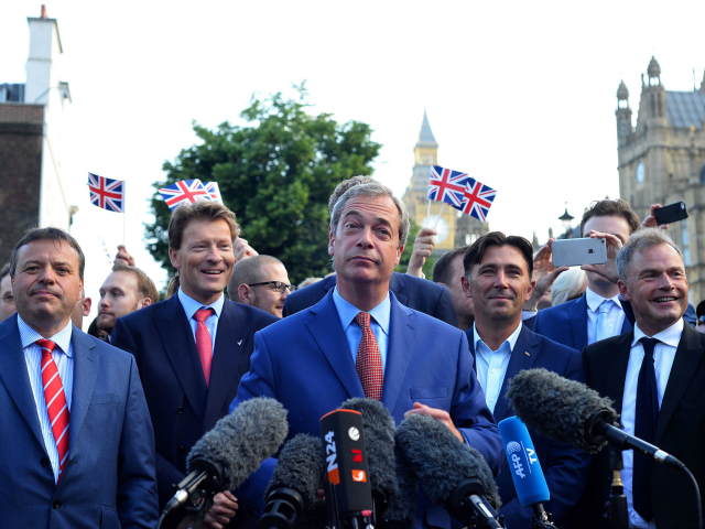 Farage: I'm back on the road to challenge May's Brexit plan