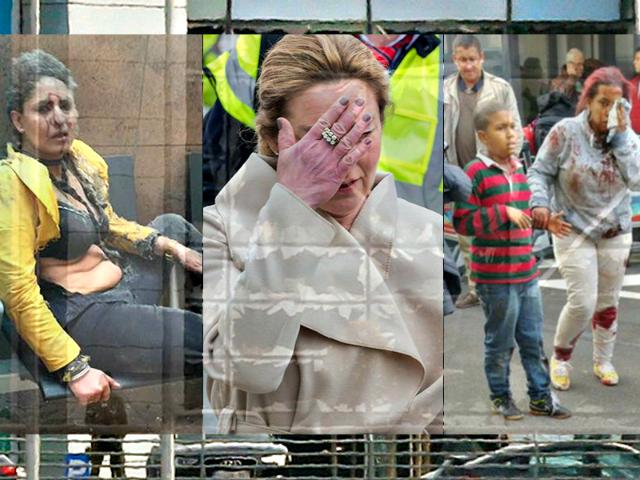 Brussels Bomb Attack APReuters