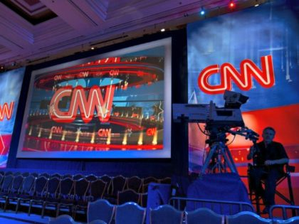 CNN red, blue, studio Mike BlakeReuters