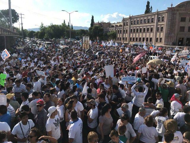 Coahuila Protest
