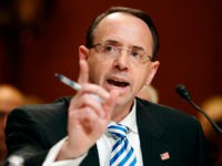 Rosenstein Told Trump He's Not a Target of Russia or Cohen Probes