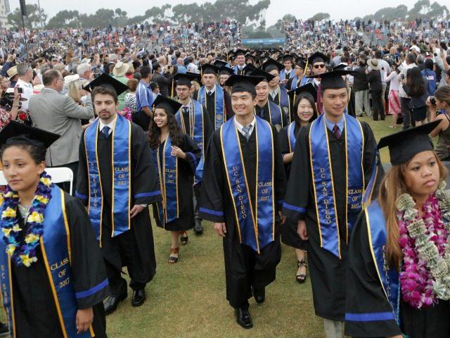UC San Diego graduation ceremony, 2017.
