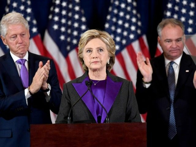Hillary Concedes JEWEL SAMADAFPGetty
