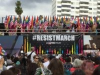Los Angeles Gay Pride Resist March (Joel Pollak / Breitbart News)