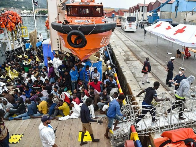 Three migrants die as thousands rescued in seas off Libya