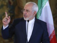 Iran's Foreign Minister Mohammad Javad Zarif addresses media during a press conference in Prague, Czech Republic, Friday, Nov. 11, 2016. (AP Photo/Petr David Josek)