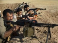 Iraqi Kurdish Peshmerga fighters have been fighting Islamic State in northern Iraq