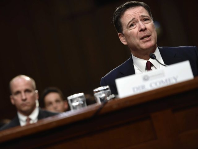 James Comey Testifies At Senate Intelligence Committee Hearing