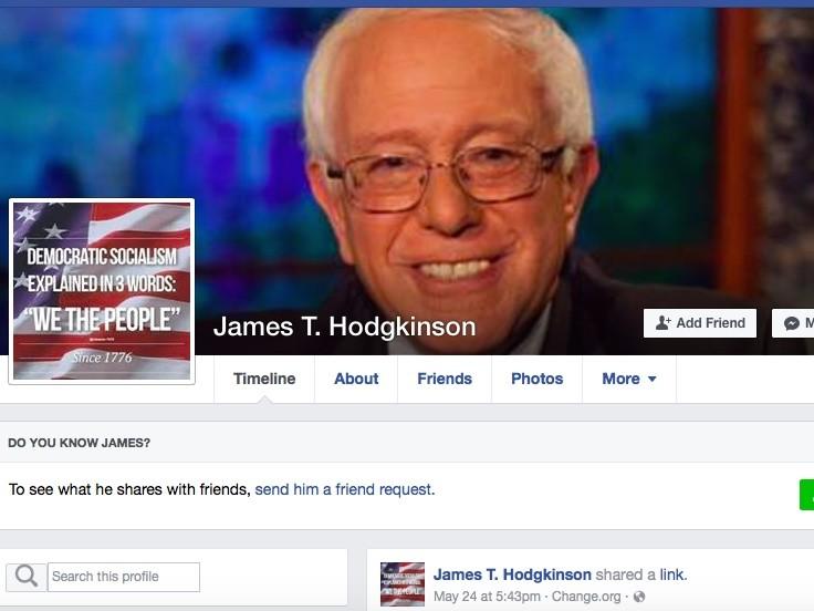 James T. Hodgkinson Facebook page (Facebook)