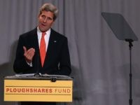 John Kerry Ploughshares Fund (Mark Wilson / Getty)