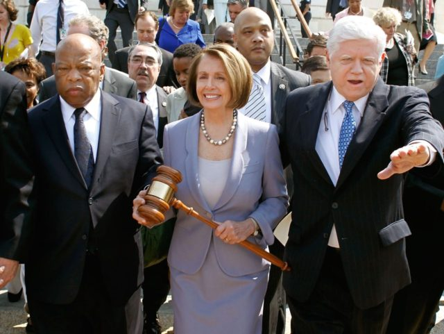 Nancy Pelosi gavel (Chip Somodevilla / Getty)