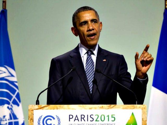 Obama Paris Accord AP