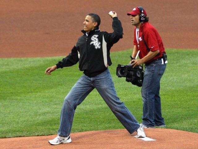 Obama mom jeans (Elsa / Getty)