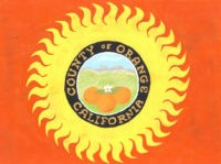 Orange County flag (Orange County Archives / Flickr / CC / Cropped)
