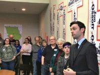 Ossoff Campaign Bill Barrow, AP