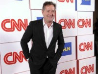 "This Jan. 10, 2014 file photo shows Piers Morgan of the CNN show ""Piers Morgan Live"" at the CNN Worldwide All-Star Party, in Pasadena, Calif. (Photo by Chris Pizzello/Invision/AP, File)"