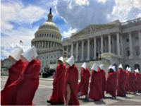 Planned Parenthood 'Handmaids' Protest at Capitol