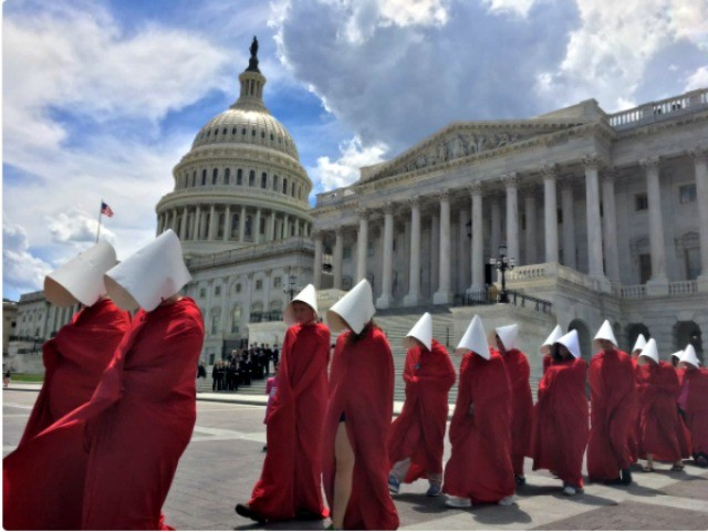 Planned Parenthood 'Handmaids' Protest at Capitol - Breitbart