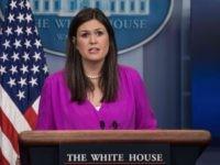 Sarah Huckabee Sanders (Nicholas Kamm / AFP / Getty)