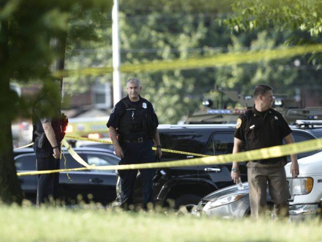 Scalise Shooting Alexandria (Brendan Smialowski / AFP / Getty)