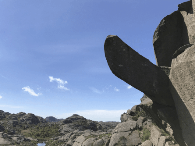 Outrage as Norway's famous penis-shaped rock is vandalised