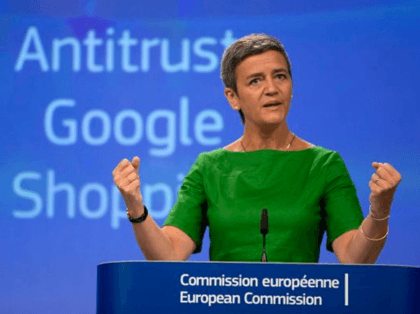 Google Fined Record 2.4 Billion Euros in EU Antitrust Case