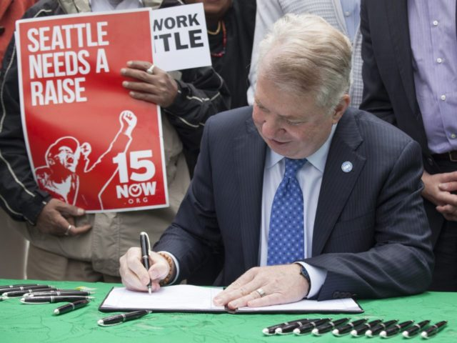 Seattle minimum wage (David Ryder / Getty)