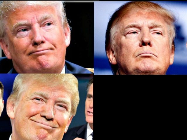 Three Trumps and a Blank