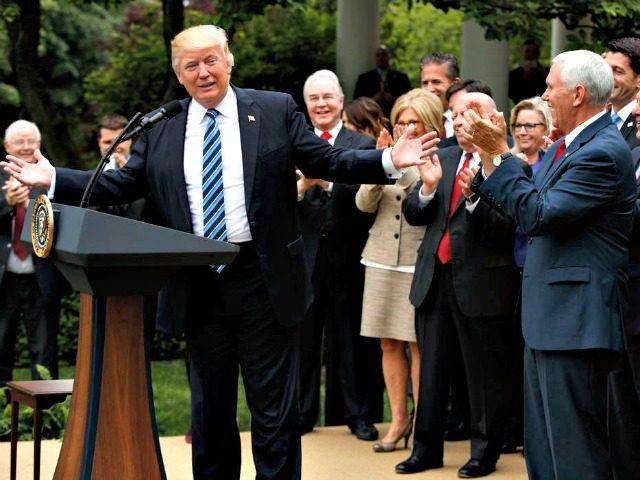 Trump Celebrates Health Care Evan VucciAP