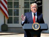 Trump Rose Garden ReutersJoshua Roberts