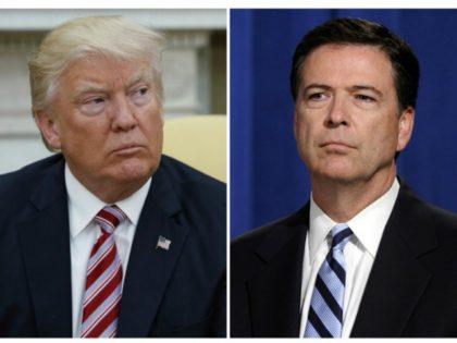 Trump_ComeyEvan Vucci, left, and Susan Walsh, right:AP