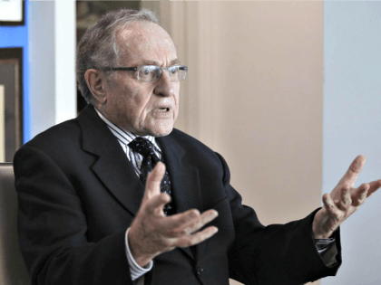 Dershowitz to Israeli AG: 'Do the Right Thing' and Drop Charges Against Netanyahu