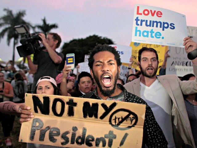 anti-Trump protesters Javier GaleanoReuters