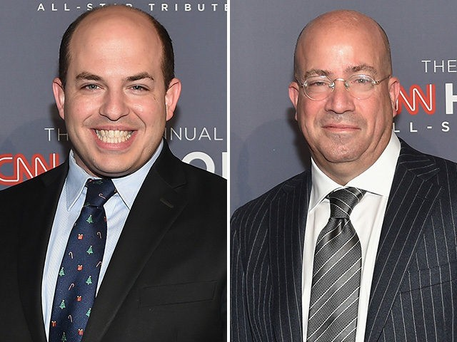 CNN President Jeff Zucker and correspondent Brian Stelter attend CNN Heroes Gala 2016 at the American Museum of Natural History on December 11, 2016 in New York City.