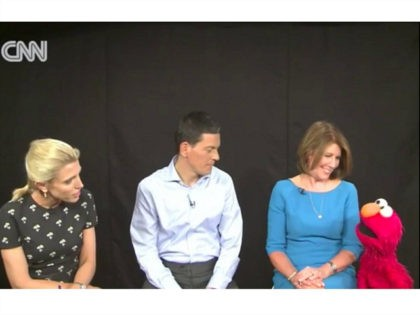 CNN Interviews Sesame Street's Elmo About 'Wonderful' Trip to Refugee Camp