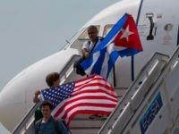 cuba US flags