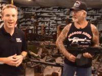 "Mel Bernstein owns 200 machine guns, ""countless grenade launchers,"" and …"