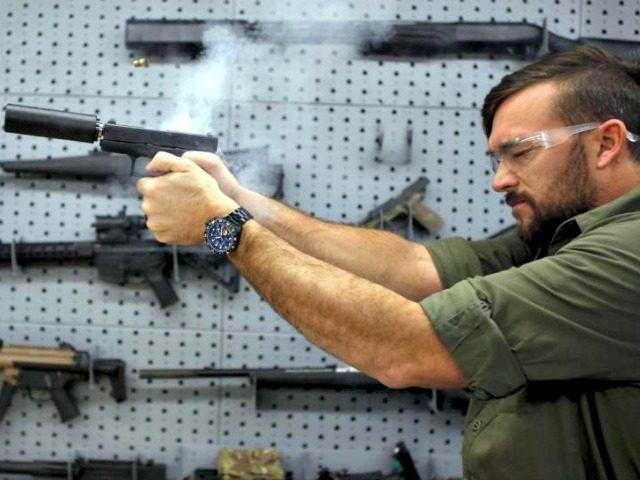 gun, suppressor Jim UrquhartReuters