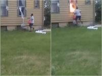 VIDEO: Wisconsin Woman Sets House on Fire, Killing Elderly Man Inside