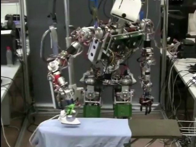 TEO the ironing robot
