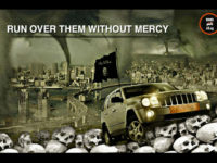 Islamic State Poster Shows Car Crushing Skulls: 'Run Over Them Without Mercy'