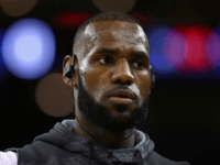 A racial insult was spray-painted upon the front gates of NBA superstar LeBron James's Los Angeles home