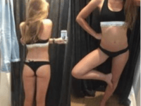 In her ad, the young woman described herself as having an athletic body. She says she stands at 5 feet 3 inches, and weighs 97 pounds. The woman posted to a classified ad website called Locanto this week.