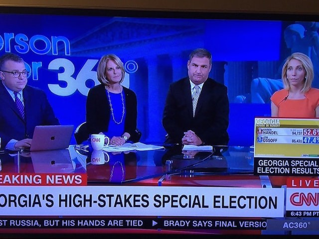 'Sad CNN' Meme Storms the Internet as Karen Handel Wins Georgia Special Election - Breitbart News