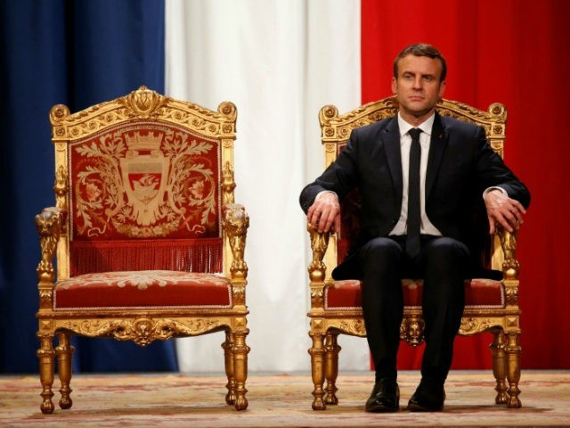 Exit polls: Large majority for Macron in French parliament